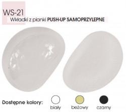 Wkładki samoprzylepne PUSH-UP WS-21  Kolor-Biały