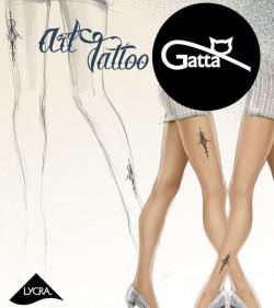 Rajstopy Gatta ART TATTO 03