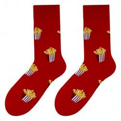 Patterned socks MORE FRIES
