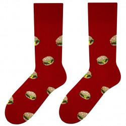 Patterned socks MORE Hamburger