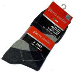 Pierre Cardin diamond socks
